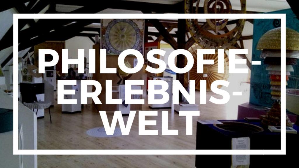 Philosofie-Erlebniswelt